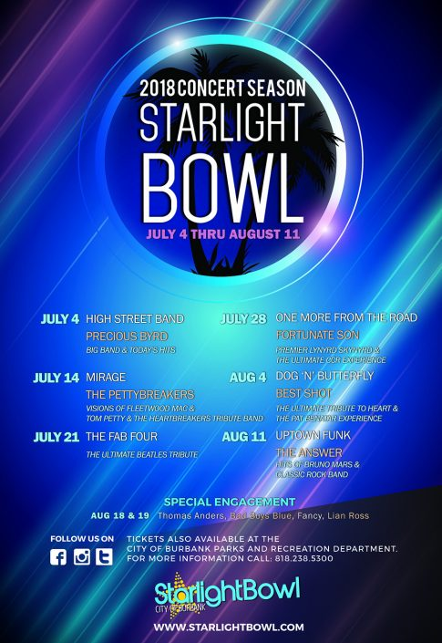 Starlight Bowl Poster
