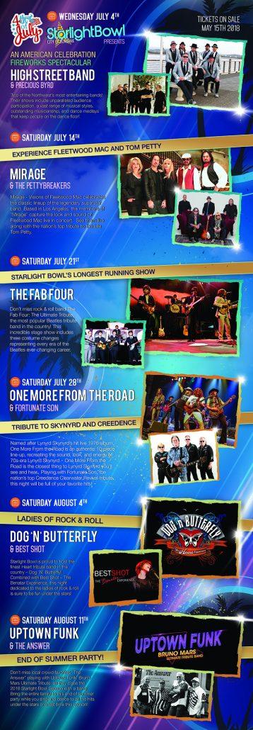 Burbank Starlight Bowl Brochure Front