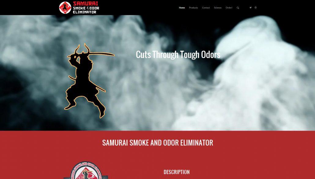 Samurai Smoke and Odor