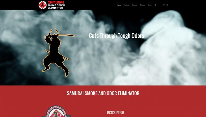 Samurai Smoke and Odor